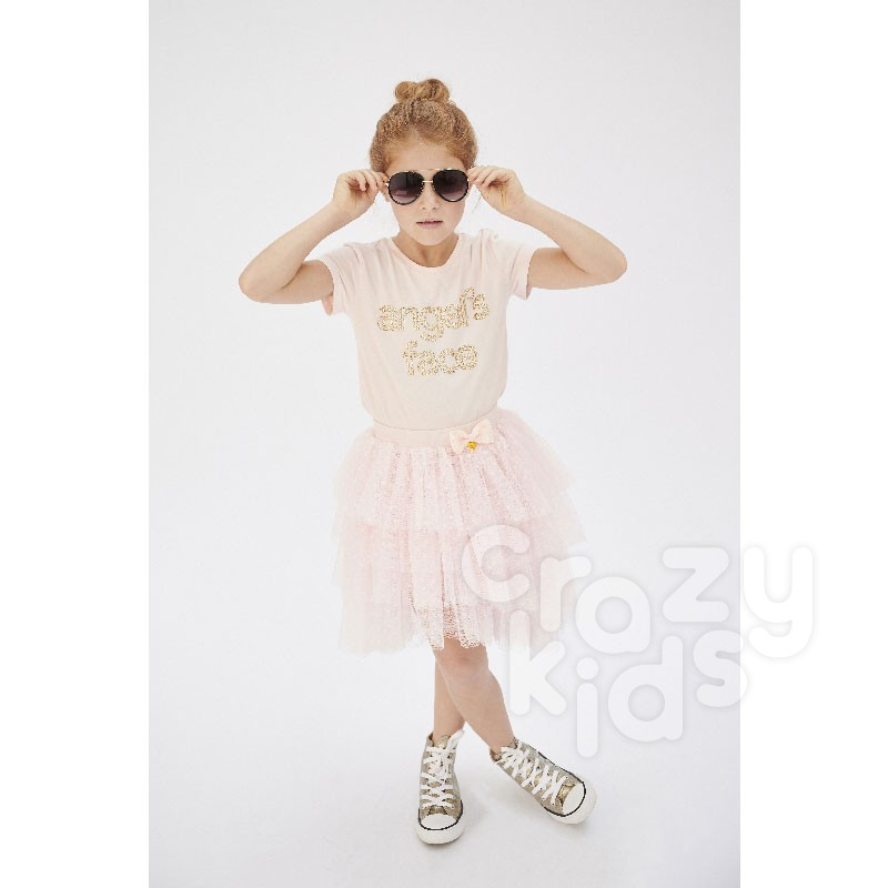 Fustita tulle Betsey Angels face copii