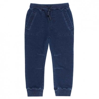 Pantaloni sport denim Boboli copii