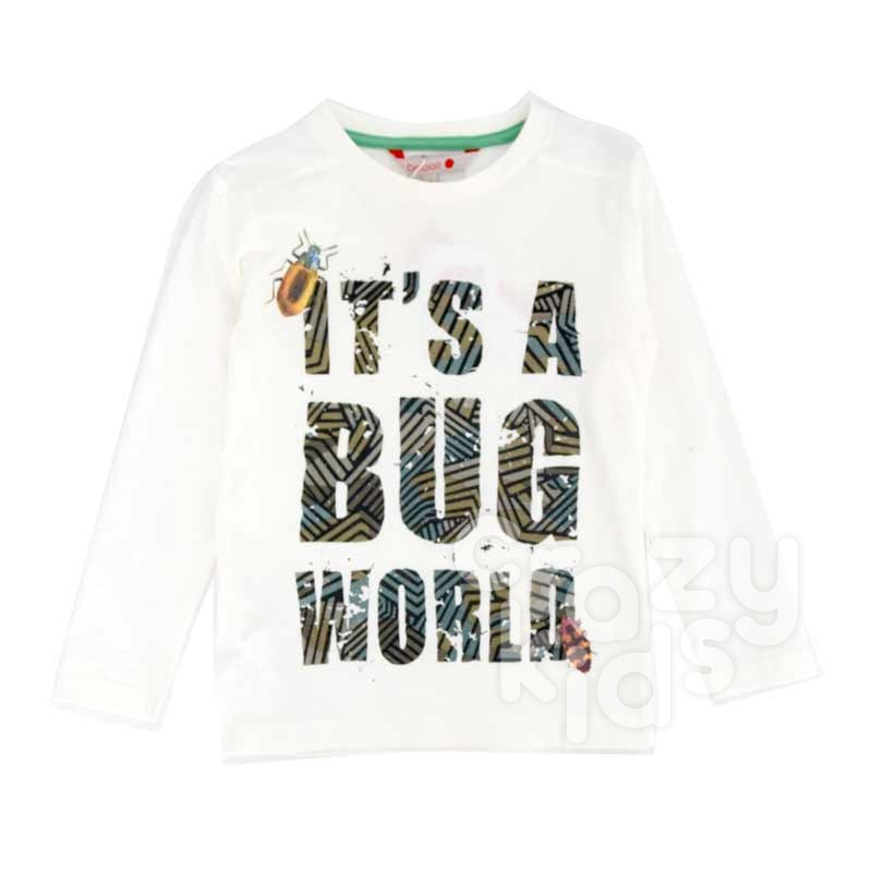 Bluza baiat Boboli Bug World