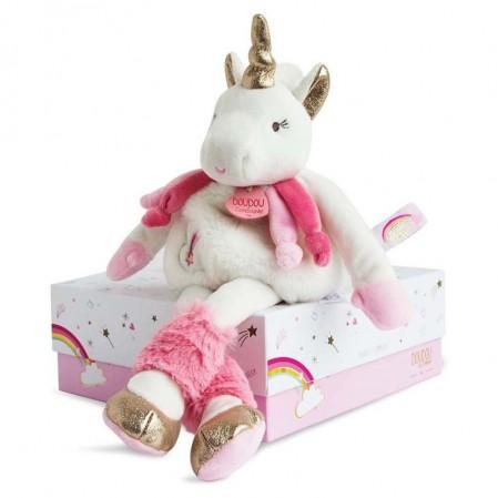 Jucarie unicorn Doudou 22 cm