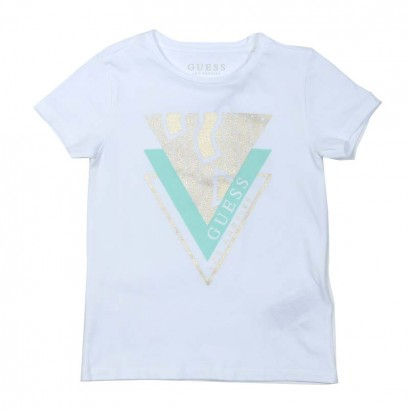 Tricou fete Guess triangles