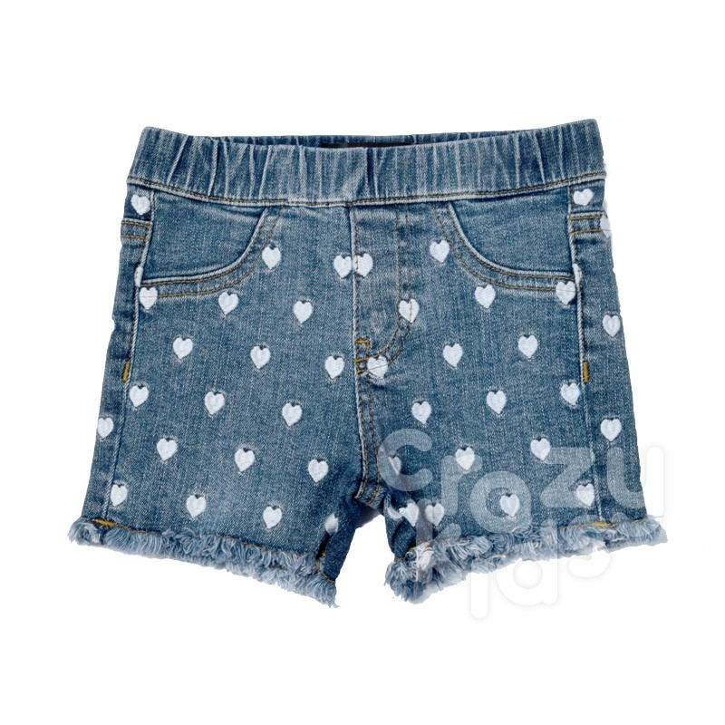 Pantaloni scurti din denim Guess fete