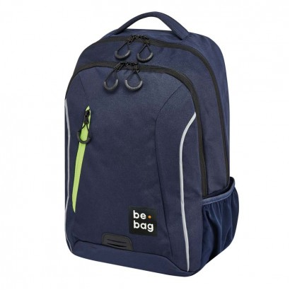 Herlitz ghiozdan copii  be-bag be-urban Indigo blue