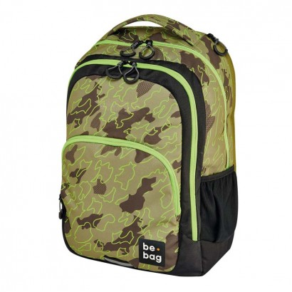 Herlitz ghiozdan be-bag be-ready Abstract camouflage