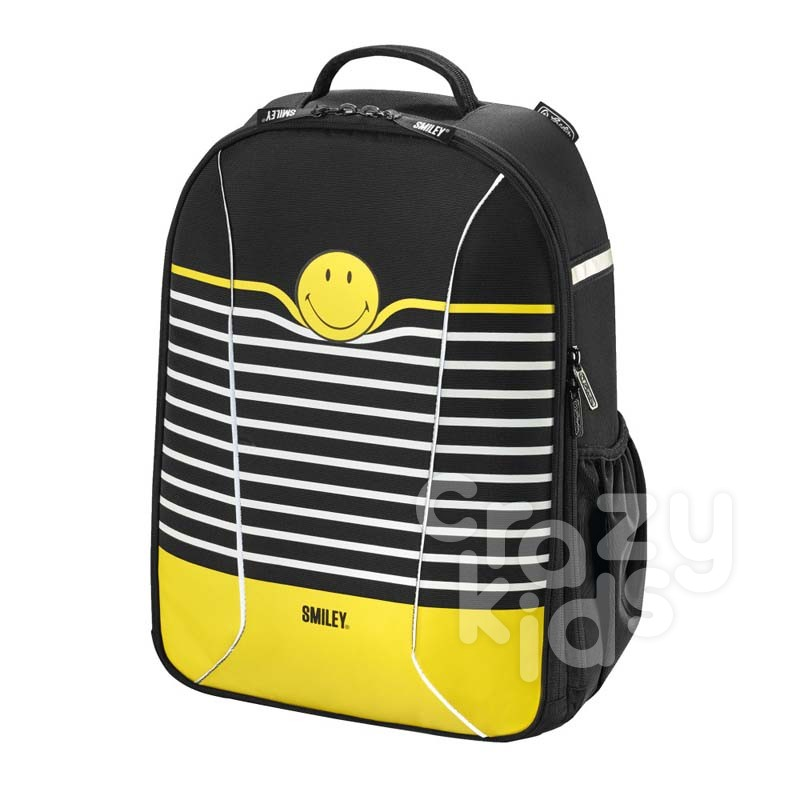 Herlitz ghiozdan pentru copii be-bag airgo Smiley World Stripes