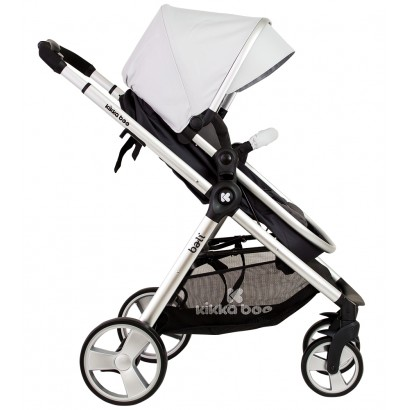 Kikka Boo Carucior Bebe  2 in 1 Summer Grey scaun transformabil