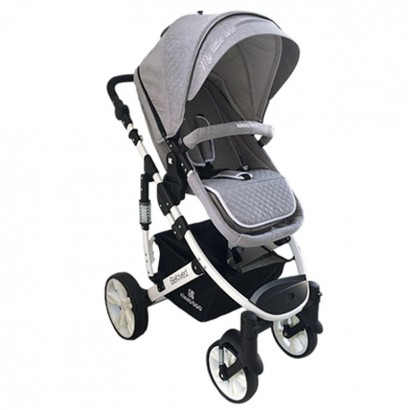 Carucior Beloved 2 in 1 Kikka Boo Light Grey
