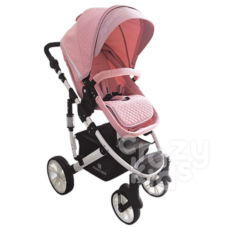 Carucior 2 in 1 Light Pink Kikka Boo bebe