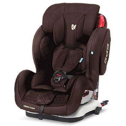 Kikka Boo scaun auto 1,2,3 9-36 kg Major  Brown Isofix