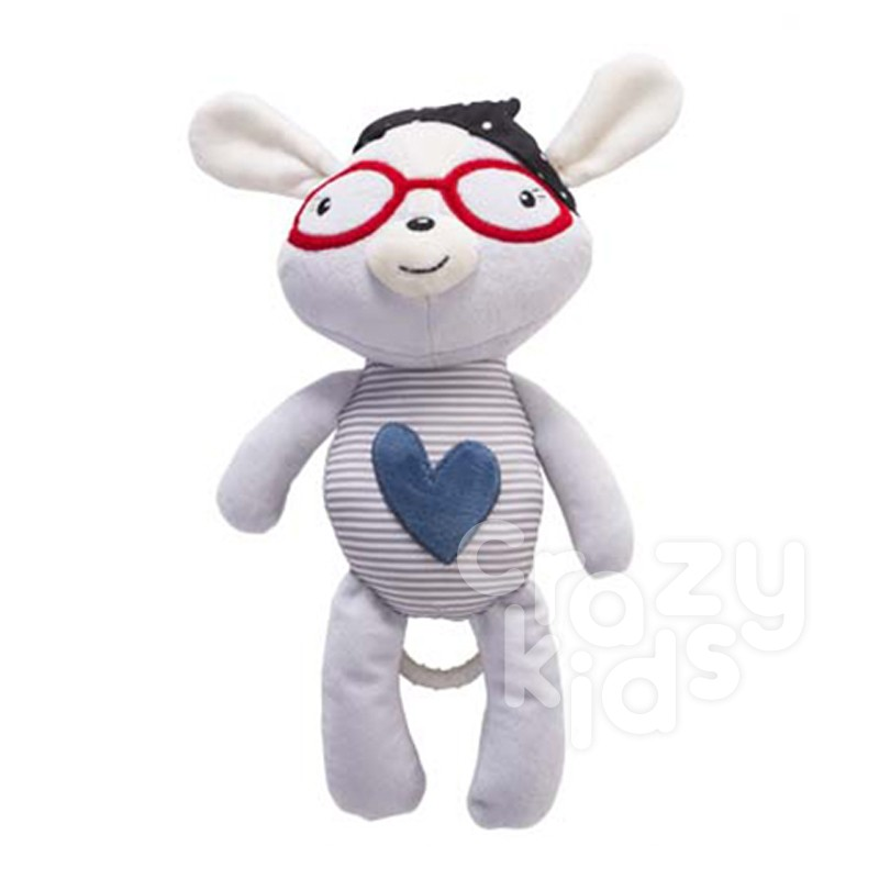 Kikka Boo jucarie pentru patut Blue Heart LOVE ROME