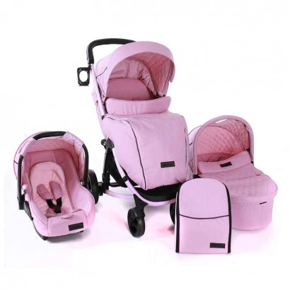Kikka Boo carucior Madrid All in One Pink Melange