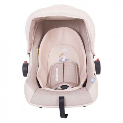 Kikka Boo scaun auto 0l 0-13 kg Little Traveler Pink Rabbit