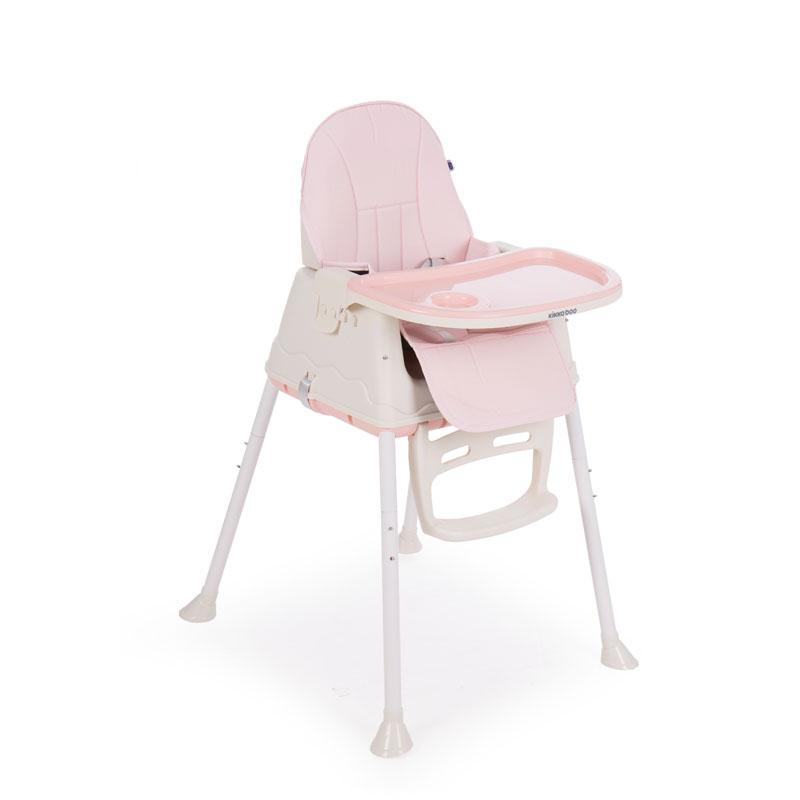 Scaun de masa Kikkaboo Creamy Pink