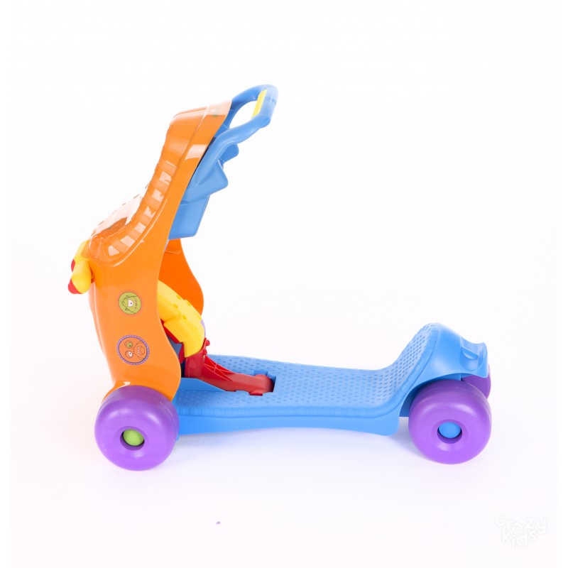 Masinuta Kikka Boo Ride-on 3 in 1 Blue
