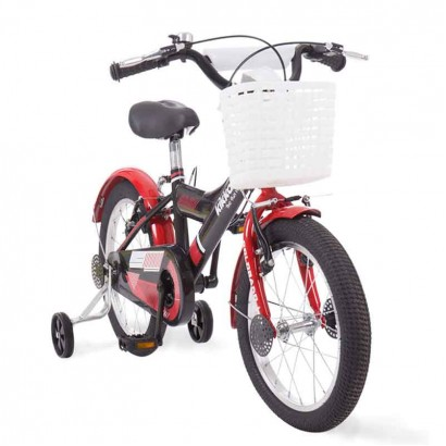 Kikka Boo bicicleta Colorado L Black Red