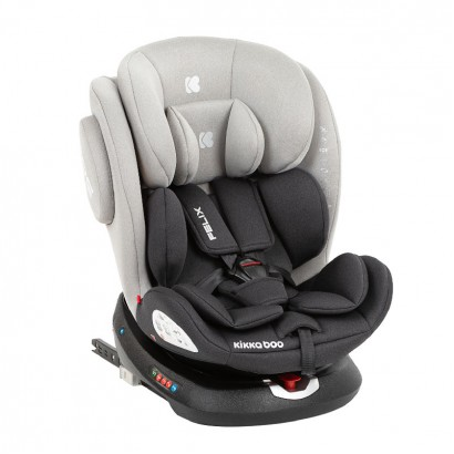 Kikka Boo scaun auto  0-1-2-3 0-36 kg Felix Light Grey 2020