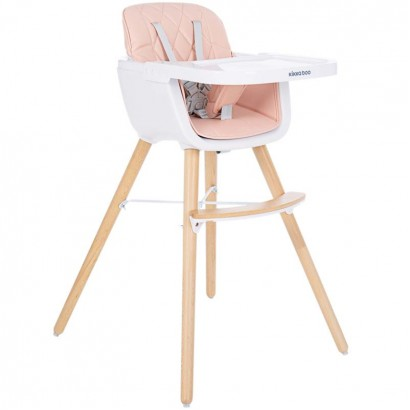 Kikka Boo scaun de masa Woody Pink bebe
