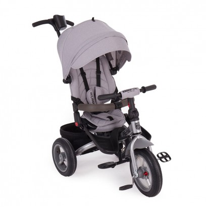 Kikka Boo tricicleta Premio Air wheels Grey Melange