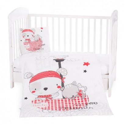 Kikka Boo set pentru dormitor bebe 5 piese Pirates