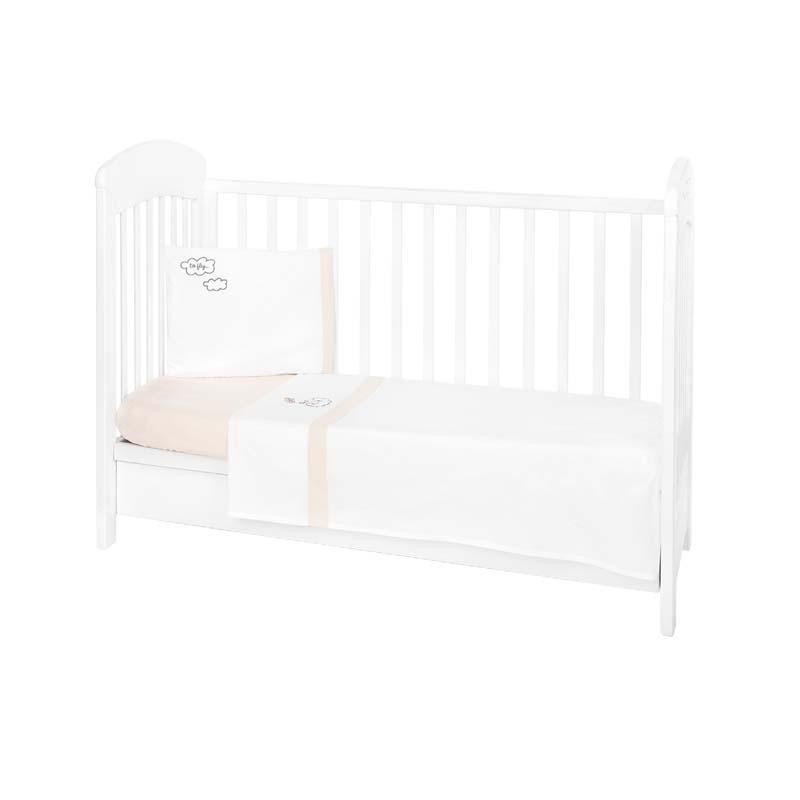 Kikka boo set dormitor 3 piese EU Style 70х140 cu broderie Dreamy Flight