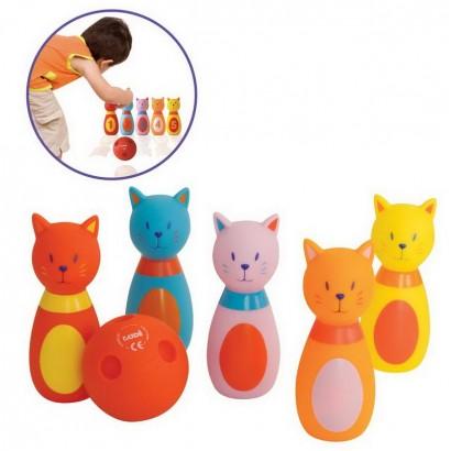 Ludi Bowling pentru copii Cats