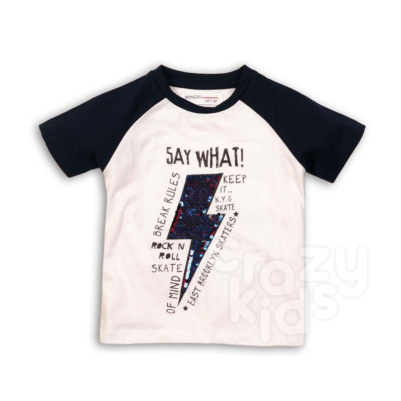 Tricou Minoti Say What baieti