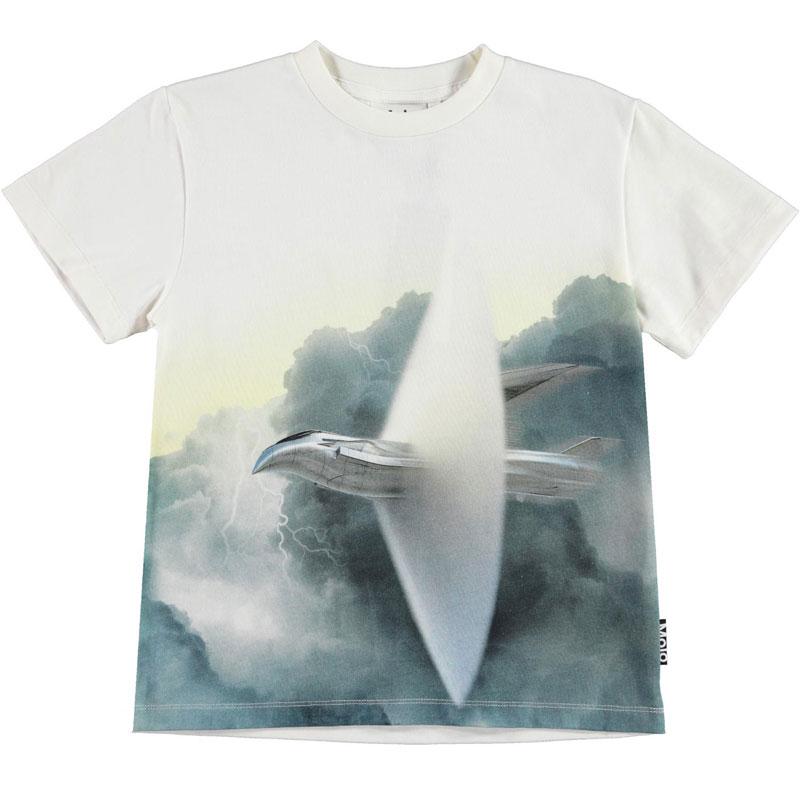 Tricou de baieti cu print Molo