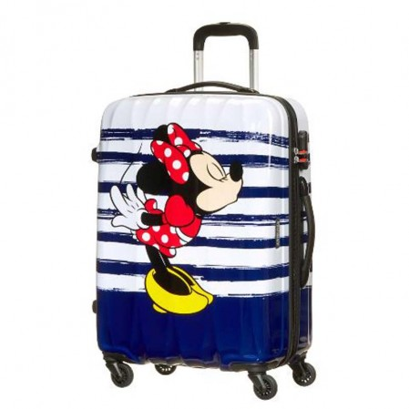 Samsonite spinner cu 4 roti Disney Legends 65 сm Minnie Kiss AT