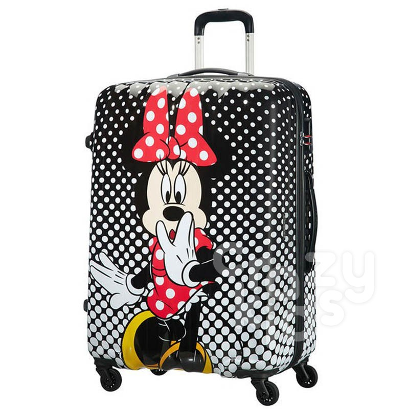 Samsonite AT spinner 4 roti Disney Legends 75 сm Minnie Mouse Polka Dot