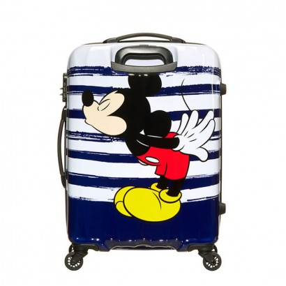 Samsonite Spinner cu 4 roti Disney Legends 65 cm Mickey Kiss