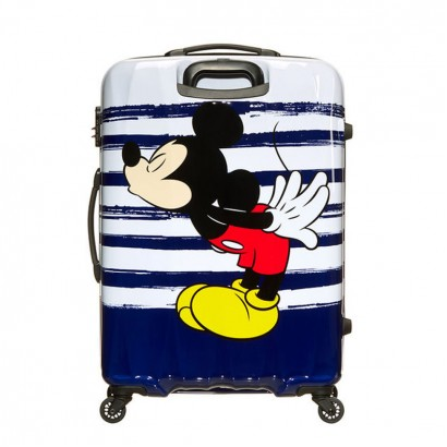 Samsonite spinner cu 4 roti Disney Legends 75 сm Mickey Kiss AT