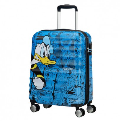 Spinner Samsonite cu 4 roti Wavebreaker Donald Duck 55 cm