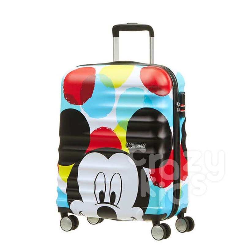 Samsonite valiza cu 4 roti  Wavebreaker Mickey Close Up АТ  55 cm