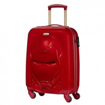 Samsonite spinner cu 4 roti 55 сm Disney Ultimate 2 Iron Man Red