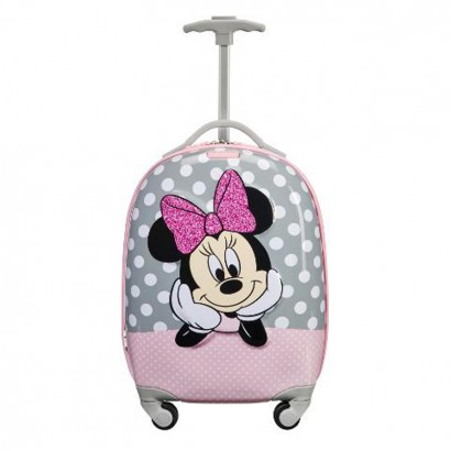 Spinner cu 4 roti 46cm Samsonite Disney Ultimate Minnie Glitter
