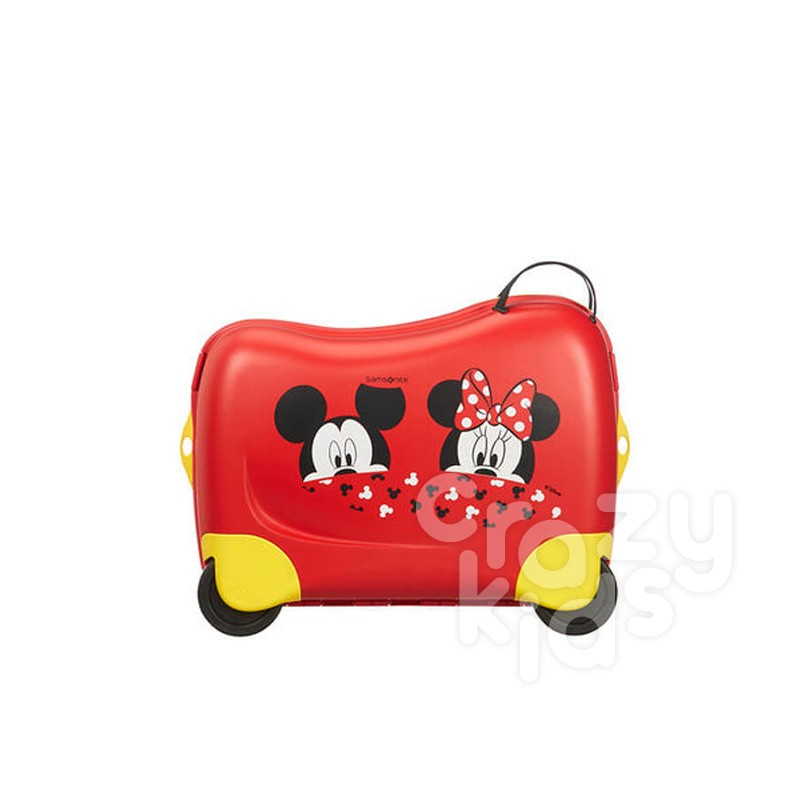 Spinner cu 4 roti Samsonite Dreamrider 39 cm inaltime Mickey-Minnie Peeking