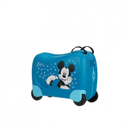 Samsonite spinner Dreamrider 39 сm inaltime Mickey Letters