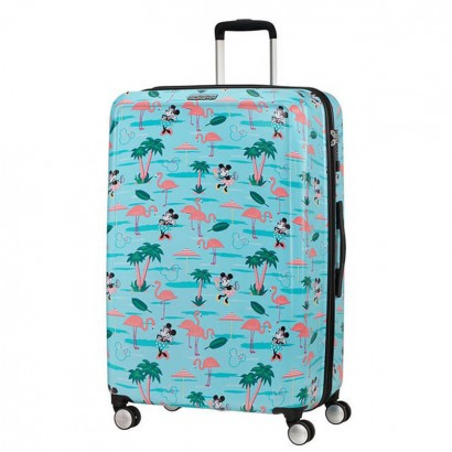 Samsonite AT spinner cu 4 roti Funlight Disney 77 сm Minnie Miami Beach