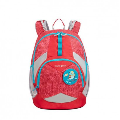 Ghiozdan ergonomic Samsonite Sam Ergofit Backpack marime M Jungle Red