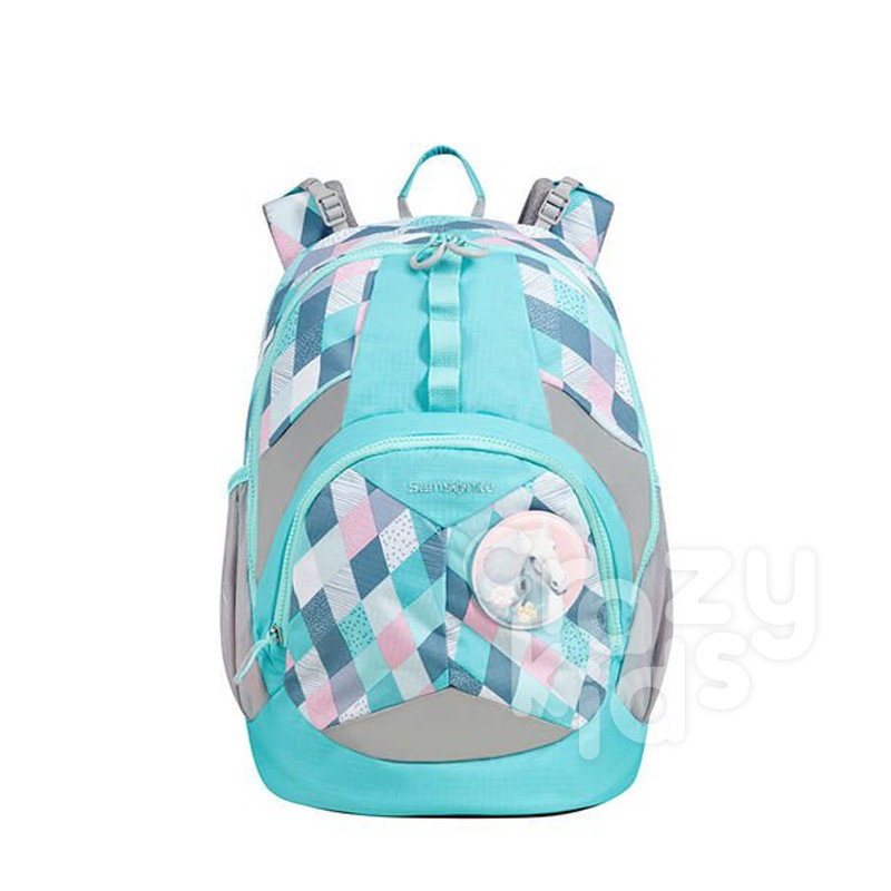 Ghiozdan ergonomic Samsonite Sam Ergofit Backpack marime M Pink Horse