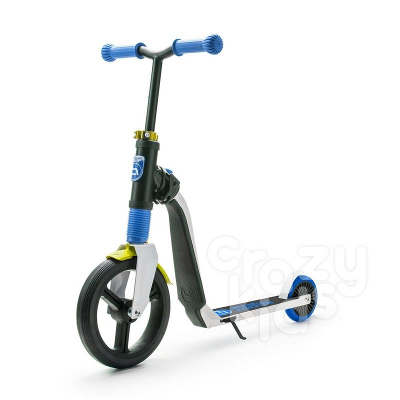 Trotineta copii  Scoot and Ride Highwayfreak 2 in 1 - scooter si bicicleta pentru balans - neagra-albastra