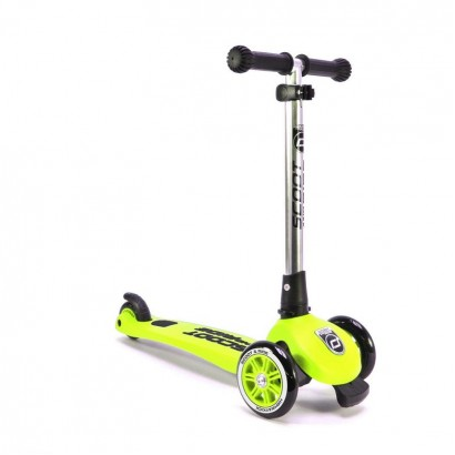Trotineta copii Scoot and Ride 2 in1 Highwaykick 3 pliabila- lime