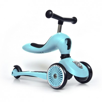 Trotineta copii Scoot and Ride 2 in 1 Highwaykick 1 scooter si bicicleta balans Mura