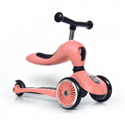 Trotineta copii Scoot and Ride 2 in 1 Highwaykick 1 scooter si bicicleta balans Piersica