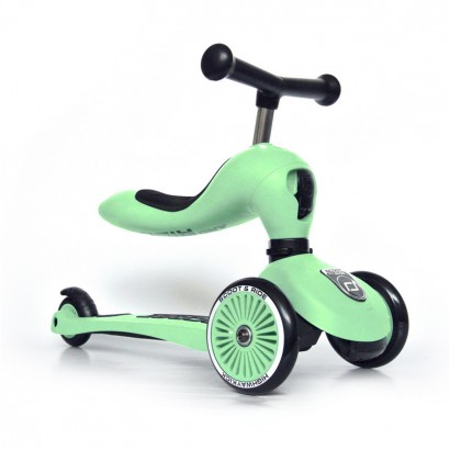 Trotineta copii Scoot and Ride 2 in 1 Highwaykick 1 Scooter si bicicleta balans Kiwi