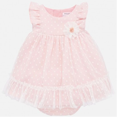 Rochie cu tulle si chilotei Mayoral bebe