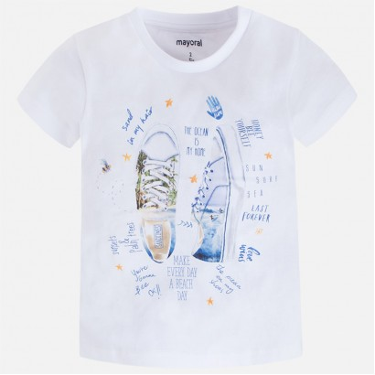 Tricou baiat The ocean is my home Mayoral