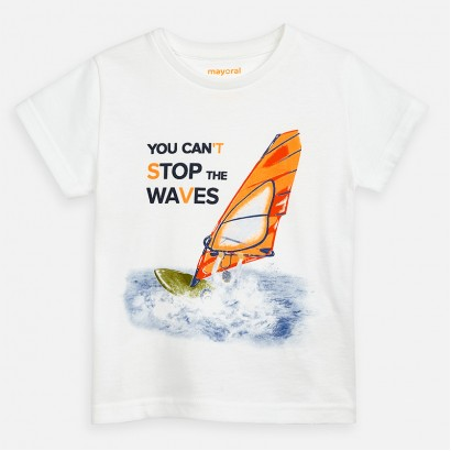 Tricou baieti Mayoral You Cant Stop the Waves