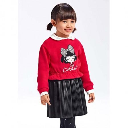 Rochie plisata Mayoral copii