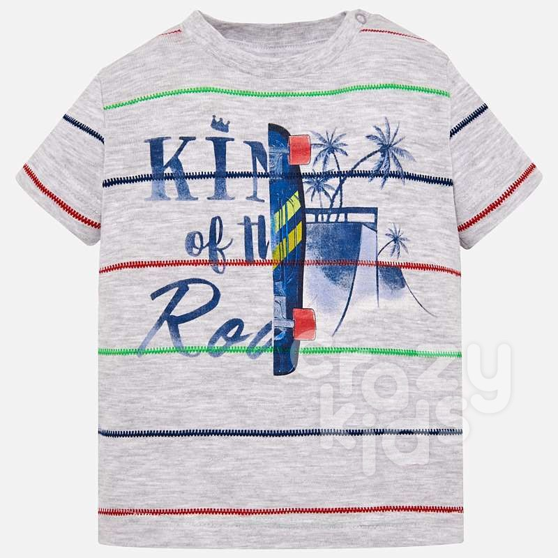 Tricou in dungi bebe Mayoral